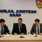 A fost semnat primul contract de salubrizare pentru proiectul de gestionare a deşeurilor