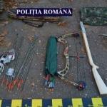 Arme descoperite în casa unui bărbat din Lipova