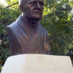 Bustul lui Mihai Botez, dezvelit în Parcul Pădurice