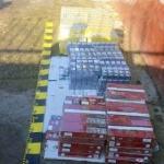 Țigări de contrabandă, confiscate la Dieci și Almaș