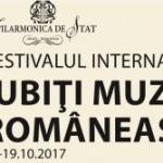 """Festivalul Internațional """"Iubiți Muzica Româneacă!"""": Colocviu și concert, în prima zi"""