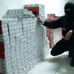 Țigări în valoare de 3 mil. lei, confiscate de polițiști