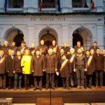 Protest organizat de PNL în centrul Aradului