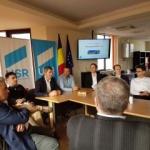 Filiala Arad a primit vizita conducerii centrale a USR