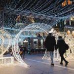 A fost aprins iluminatul festiv în municipiul Arad