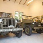 Jeep-uri din colecția Regelui Mihai, la Domeniul Regal Săvârșin