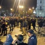 Proteste la Arad. Arădenii au preferat Festivalul Vinului