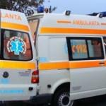 UPDATE Ambulanţă lovită de o maşină condusă de un şofer beat