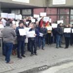 Angajații APIA, protest faţă de măsurile fiscale