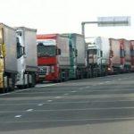 Coloane de camioane la ieşirea din ţară, în vămile Nădlac I şi II
