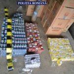 Țigări de contrabandă, confiscate. Trei persoane au fost reținute