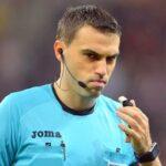 Fotbal: Haţegan va arbitra din nou un meci din Liga Campionilor