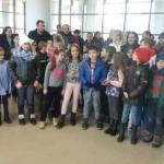 Elevi, părinți și profesori din Livada, protest la ISJ Arad