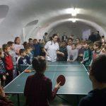 """Două campioane la întâlnirea cu elevii Școlii Gimnaziale """"Mihai Eminescu"""""""