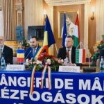 """23 de ani de """"Strângeri de mâini"""" între Arad și Gyula"""