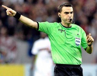 Ovidiu Haţegan, delegat să conducă un meci din Liga Europa