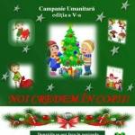 """Campania umanitară anuală """"Trăieşte magia Crăciunului, dăruind!"""". Cum puteți ajuta"""