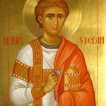 Sfântul Ştefan, ocrotitor al bolnavilor, serbat în a treia zi de Crăciun