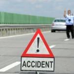 Doi sirieni, accidentaţi pe autostrada Arad – Timișoara
