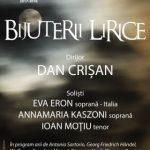 Bijuterii lirice. Concert la Filarmonica de Stat Arad