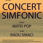 Partituri celebre în concertul Filarmonicii de Stat Arad