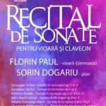 Concert în sala Regele Ferdinand din Palatul Administrativ