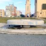 """Arteziana din Parcul """"Sfânta Maria"""", repusă în funcțiune după 25 de ani"""