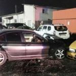 Poliţist local, cercetat penal. S-a urcat băut la volan şi a avariat cinci maşini