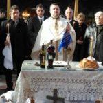 Slujbă de pomenire a Regelui Mihai, la biserica din Săvârşin