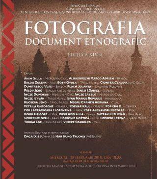 "Expoziție la Sala Clio. ""Fotografia – document etnografic"""