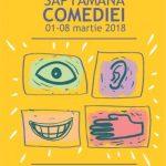 """Începe """"Săptămâna comediei"""" la Teatrul Clasic """"Ioan Slavici"""". PROGRAM"""
