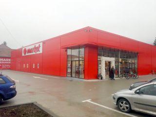Carrefour a deschis un Market la Șiria