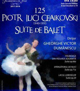 Suite de balet de Ceaikovski la Filarmonica de Stat Arad
