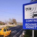 Punct fix de control a valabilității rovinietei, în zona PTF Vărșand