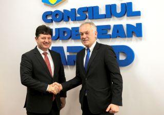 Cionca i-a cerut consulului Germaniei să intervină pentru Aeroportul Arad