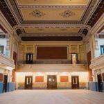 Reabilitarea clădirii Filarmonicii de Stat Arad, în faza de finisaje