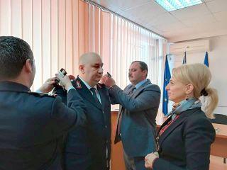 Avansări în grad la Inspectoratul pentru Situaţii de Urgenţă Arad