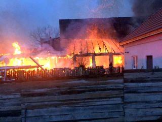 Incendiu la un bar din orașul Pecica