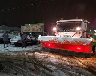 Firma care trebuia să deszăpezească drumurile din Arad a mai primit două amenzi
