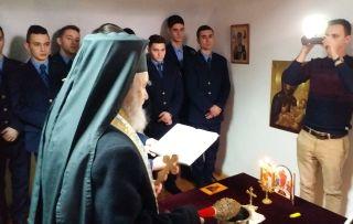 """A fost sfințită capela """"Sfinții 40 de Mucenici din Sevastia"""" de la Penitenciarul Arad"""