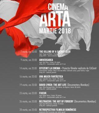Filme europene, româneşti şi documentare, la cinematograful Arta, în martie