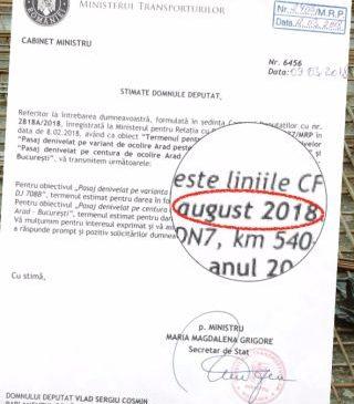 USR Arad: Pasajul de la CET primește o nouă amânare