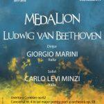 "Medalion ""Beethoven"" la Filarmonica de Stat Arad"