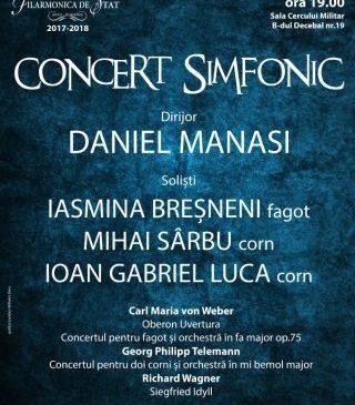 Concert simfonic dedicat compozitorilor germani, la Filarmonica de Stat Arad
