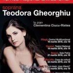 Soprana Teodora Gheorghiu, în recital pe scena teatrului din Arad. PROGRAM