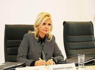 Claudia Boghicevici pleacă din CJ Arad pentru un post la Curtea de Conturi