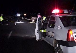 Accident pe Calea Romanilor. Beat și fără permis, la volanul unei mașini furate