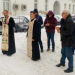 Slujbă de pomenire pentru cinci eroi martiri, la Palatul Justiției din Arad