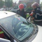 Femeie însărcinată, implicată într-un accident de circulație