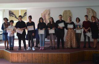 """Elevii Colegiului de Arte """"Sabin Drăgoi"""", premiați la olimpiadele naționale"""